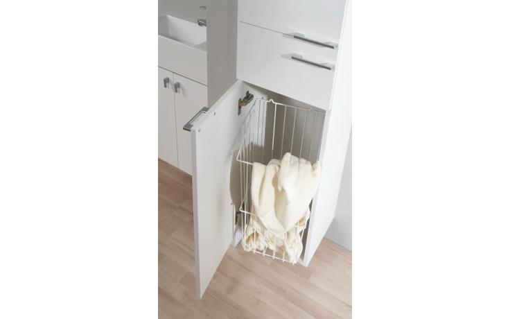 LEBON Q57 koš na prádlo, bílá