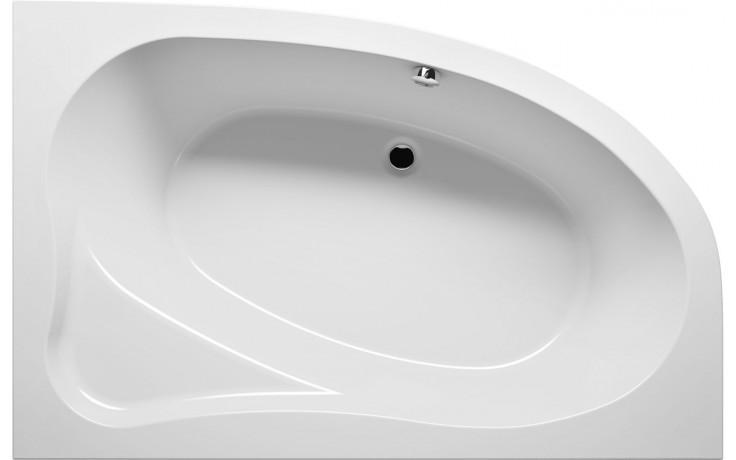 RIHO LYRA BA68 vana 153,5x100,5cm asymetrická, levá, akrylátová, bílá