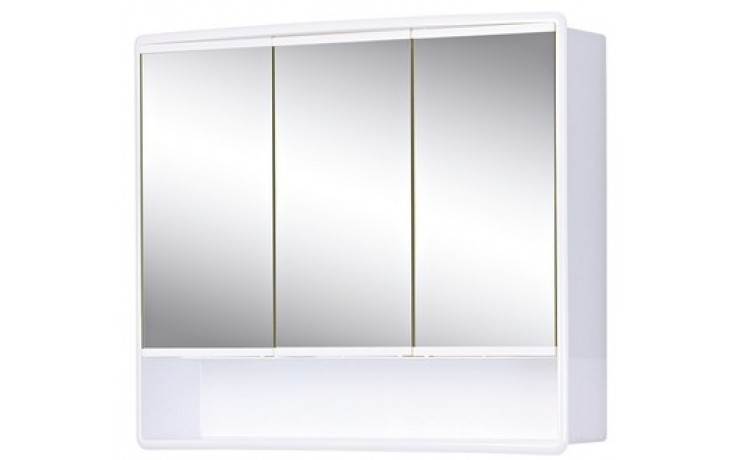 JOKEY LYMO zrcadlová skříňka 58x14,5x49,5cm plast, bílá