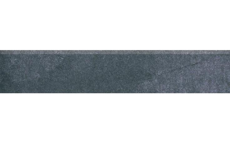 RAKO SANDSTONE PLUS LAPPATO sokl 45x8,5cm černá DSKPM273