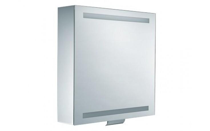 Nábytek zrcadlová skříňka Keuco Edition 300 30201171201 65x65cm stříbrná