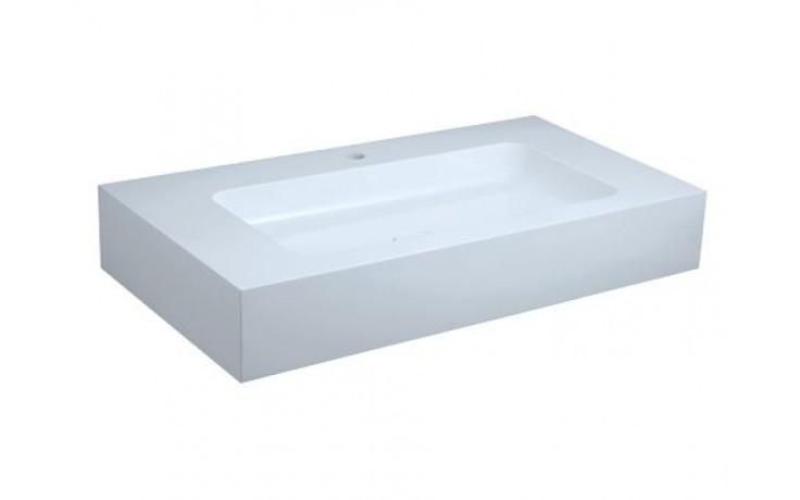 Umyvadlo nábytkové Keuco - Edition 300 30380310001 950x155x525 mm bílá