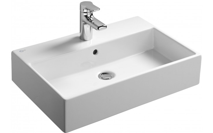 Umyvadlo klasické Ideal Standard s otvorem Strada  60x42 cm bílá