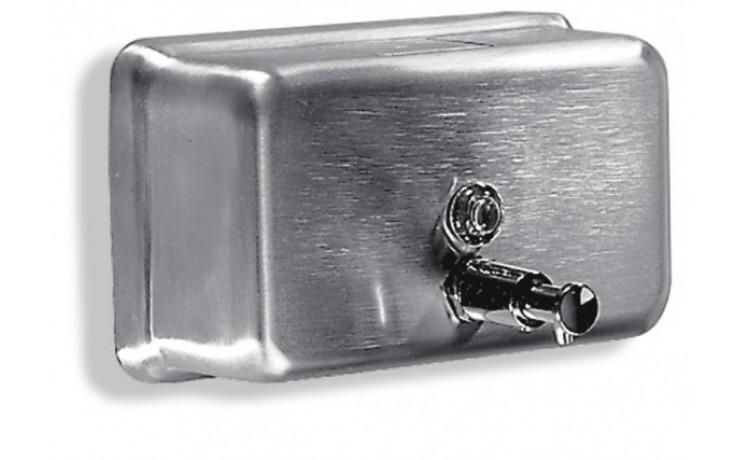 Doplněk dávkovač - MEDIGEL 130x208x121 mm/1,2l matný nerez