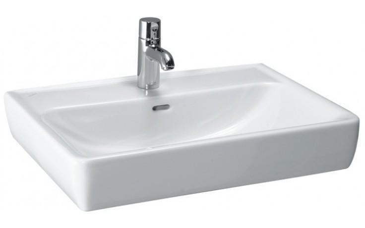 Umyvadlo nábytkové Laufen s otvorem Pro A mísa 55 cm bílá-LCC
