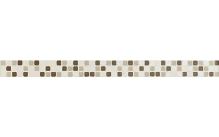 IMOLA REFLEX listela 4,5x60cm almond, L.MOSAIC A MIX
