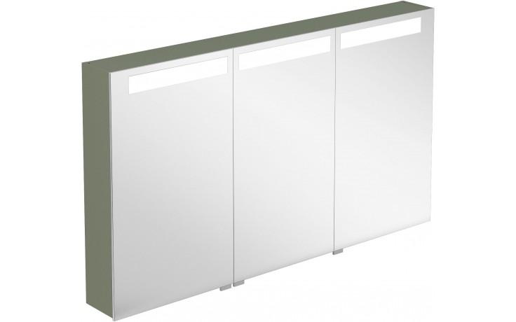 Nábytek zrcadlová skříňka Villeroy & Boch Verity Design 1300x746,5x149 mm jilm tmavý