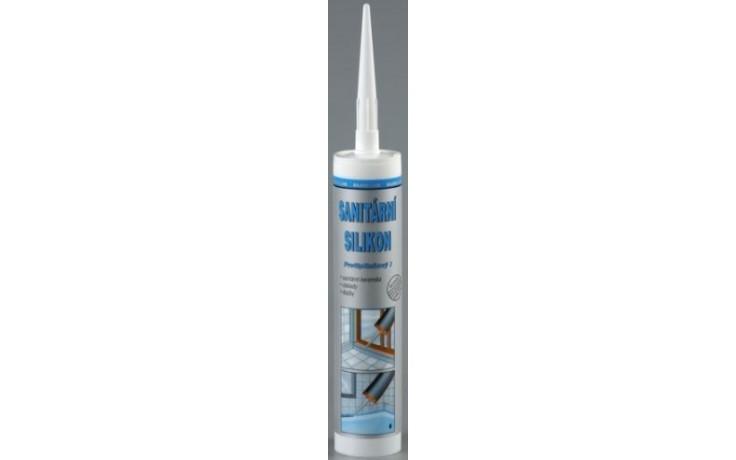 DEN BRAVEN SILVER LINE sanitární silikon 310ml, bílá