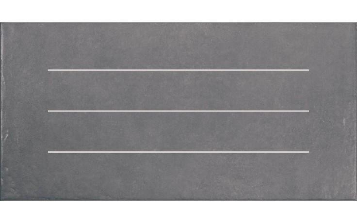 Dlažba Rako Clay pruhy 30x60 cm šedá