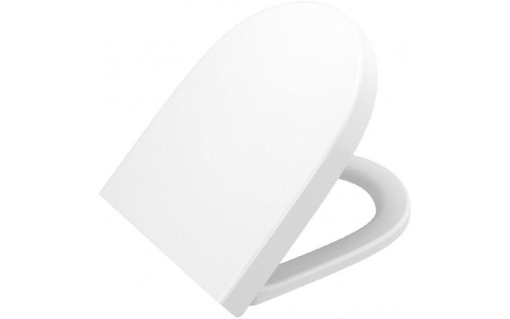 CONCEPT WC sedátko 365x450mm duroplastové se soft close, bílá