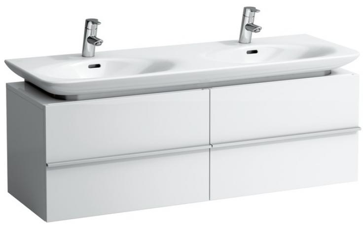 LAUFEN CASE skříňka pod umyvadlo 1290x430x425mm se 2 zásuvkami, bílá 4.0133.1.075.463.1