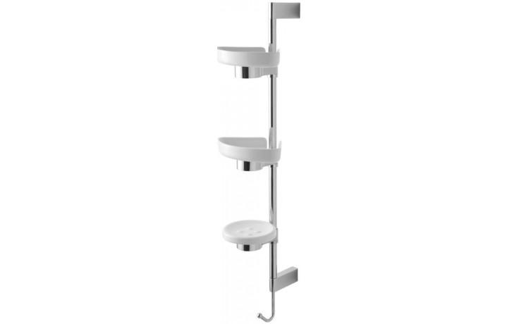 IDEAL STANDARD CONNECT sprchová tyč 181x208x670mm, včetně odkládacích misek, chrom