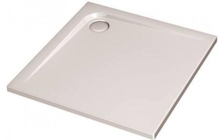 Vanička plastová Ideal Standard čtverec Ultra Flat 80x80 bílá