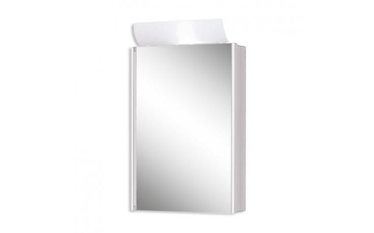 Nábytek zrcadlová skříňka Jokey SingleALU 45x77/68/x15 cm hliník