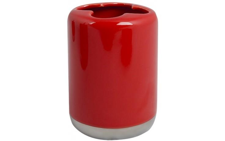 Doplněk ostatní AWD Scarlet pohárek na kartáčky  červená