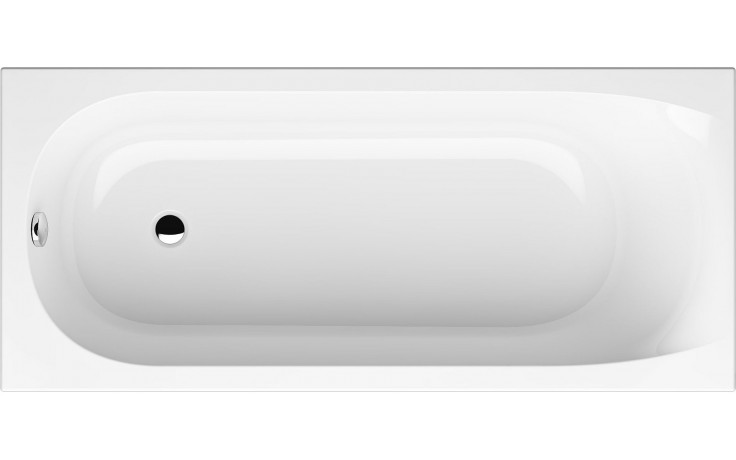 GKI FOX klasická vana 1700x750mm s přepadem, akrylátová, bílá