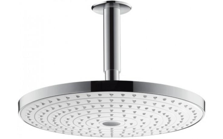 HANSGROHE RAINDANCE SELECT S 300 2JET horní sprcha s přívodem od stropu bílá/chrom 27337400