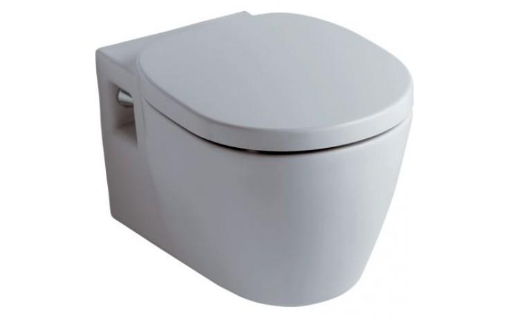 IDEAL STANDARD EUROVIT kombinovaný klozet 360x540mm vodorovný odpad bílá E823201