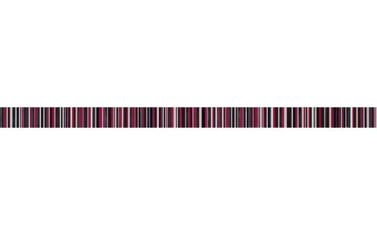 KERABEN THAI MIX listela 3,8x70cm, rojo KTY35006