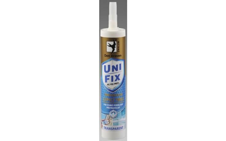 DEN BRAVEN MS UNIFIX CLEAR polymerní tmel 290ml, jednosložkový, transparentní