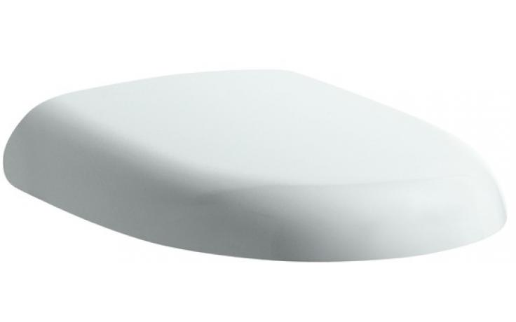 Sedátko WC Laufen duraplastové s kov. panty Florakids  bílá-zelená