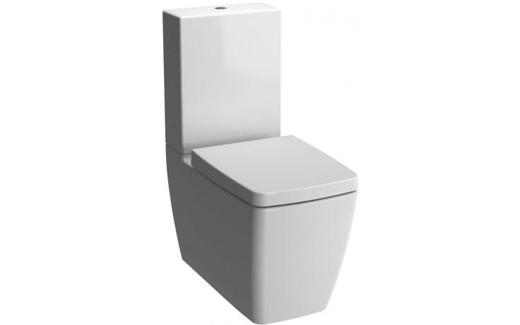 VITRA METROPOLE WC mísa 360x650x400mm, vodorovný odpad, se skrytým přívodem, bílá