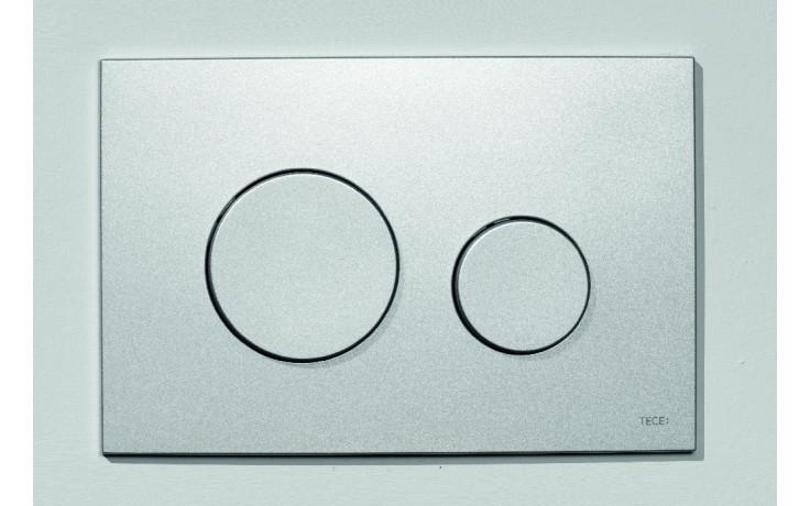 Předstěnové systémy ovládací desky TECE TECEloop dvojčinné  plast/matný chrom
