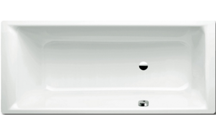 KALDEWEI PURO 696 vana 1700x700x420mm, ocelová, obdélníková, s bočním přepadem, bílá 258800010001