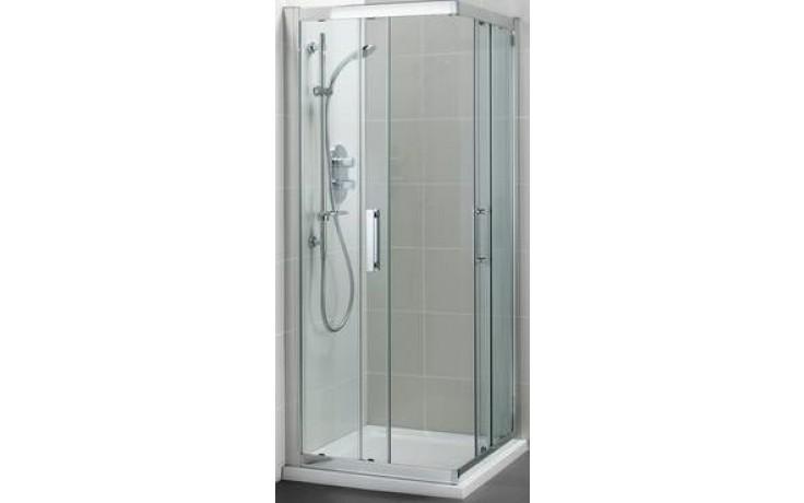 Zástěna sprchová čtverec Ideal Standard sklo Synergy 1000x1000x1900 mm Silver Bright/Transparente
