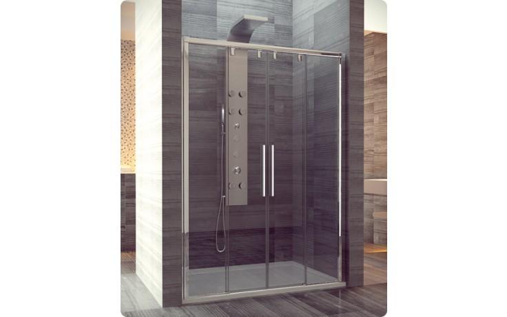 Zástěna sprchová dveře Ronal sklo Pur Light S PLS4 180 50 07 1800x2000 mm aluchrom/čiré AQ