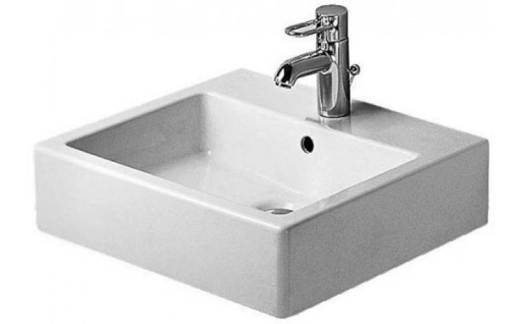 Umyvadlo nábytkové Duravit - Vero broušené s otvorem 50x47cm bílé