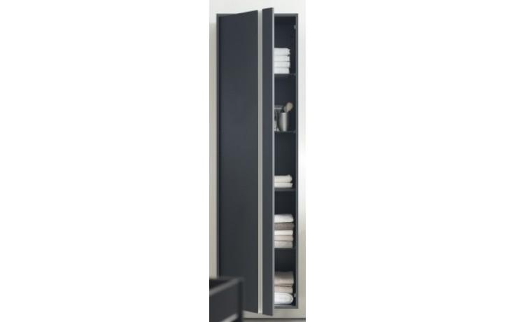 Nábytek skříňka Duravit Ketho vysoká pravá 500x360x1800 mm graphit matt