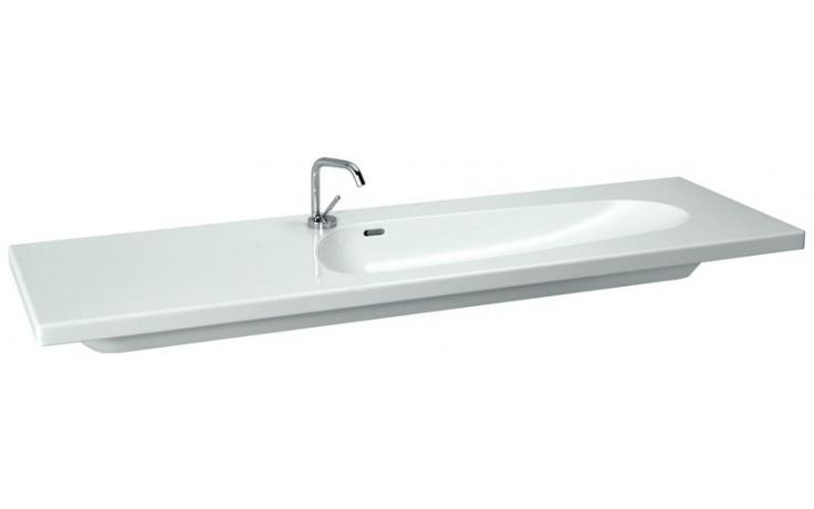 LAUFEN PALOMBA COLLECTION nábytkové umyvadlo 1600x500mm s otvorem, bílá
