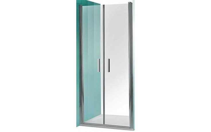 ROLTECHNIK TOWER LINE TCN2/1200 sprchové dveře 1200x2000mm dvoukřídlé pro instalaci do niky, bezrámové, brillant/intimglass