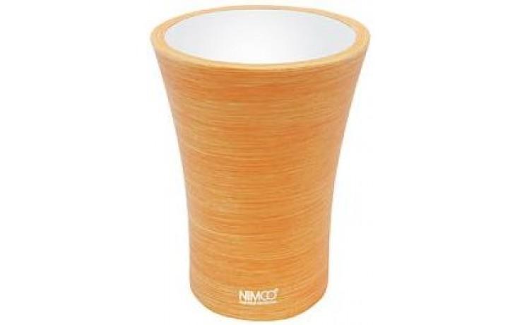 NIMCO ATRI pohárek na kartáčky 85x85x115mm oranžová AT 5058-20