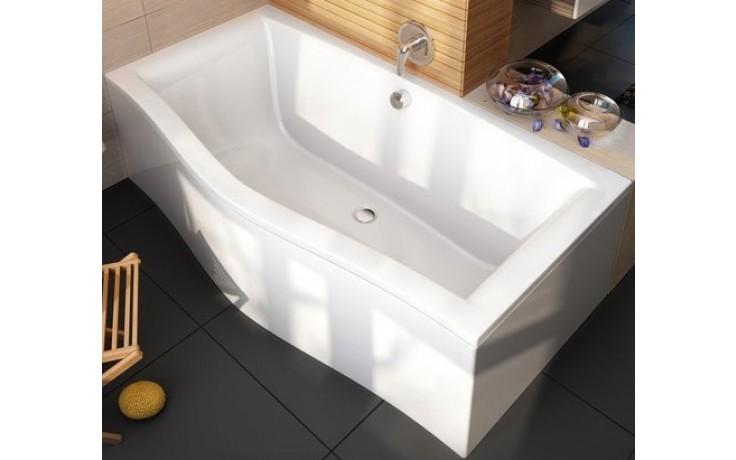 RAVAK MAGNOLIA 180 klasická vana 1800x800mm akrylátová, obdélníková, bílá C601000000