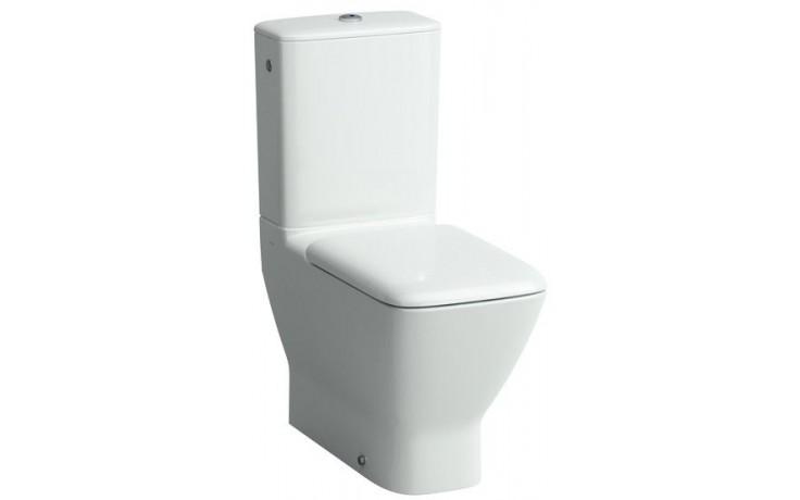 WC kombinované Laufen odpad vario Palace mísa bez nádržky  bílá