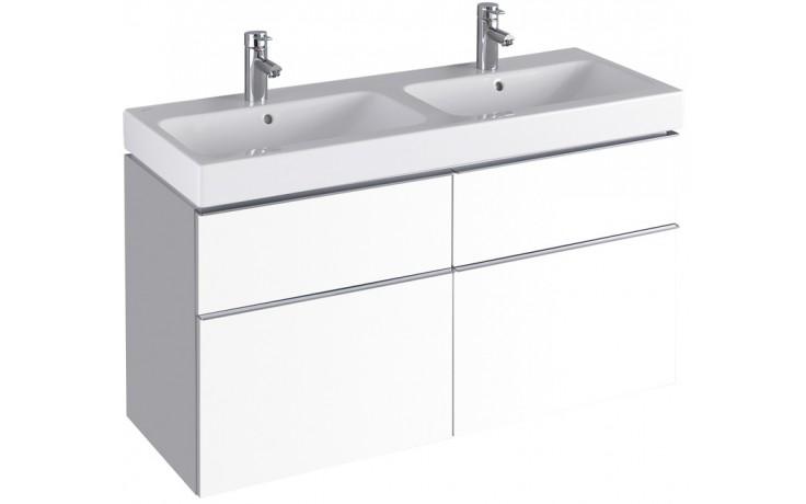 Nábytek skříňka pod umyvadlo Keramag iCon 119x62x47,7 cm bílá lesklá (Alpin)