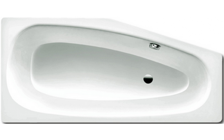 KALDEWEI MINI 832 vana 1570x750x430mm, levá, ocelová, asymetrická, bílá 224800010001