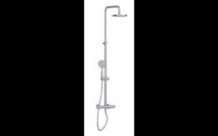 JIKA MIO sprchový termostatický výškově nastavitelný sloup, chrom