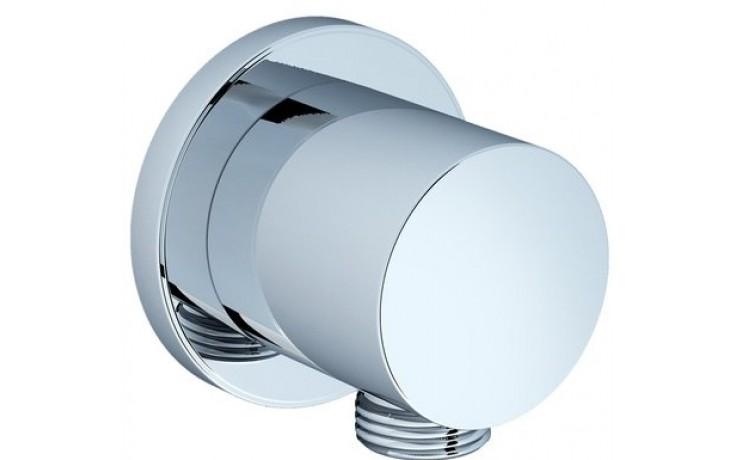 RAVAK 701.00 stěnový vývod sprchy 60x51mm chrom X07P004