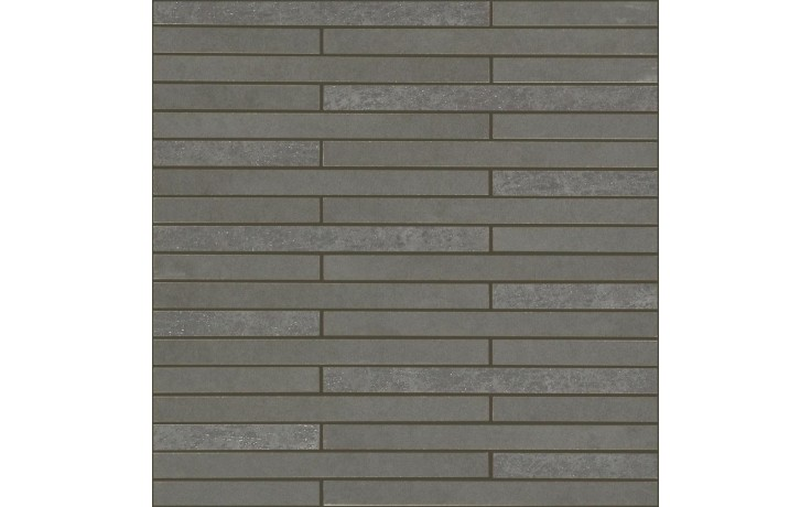 MARAZZI OFICINA7 mozaika 32,5x32,5cm lepená na síťce, anthracite, MKX0
