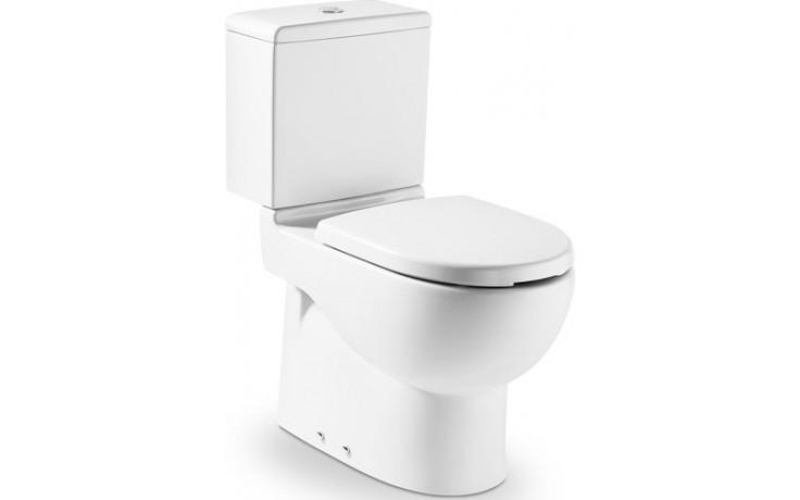 ROCA MERIDIAN WC mísa kombi 360x645mm hluboké splachování, vario odpad, bílá