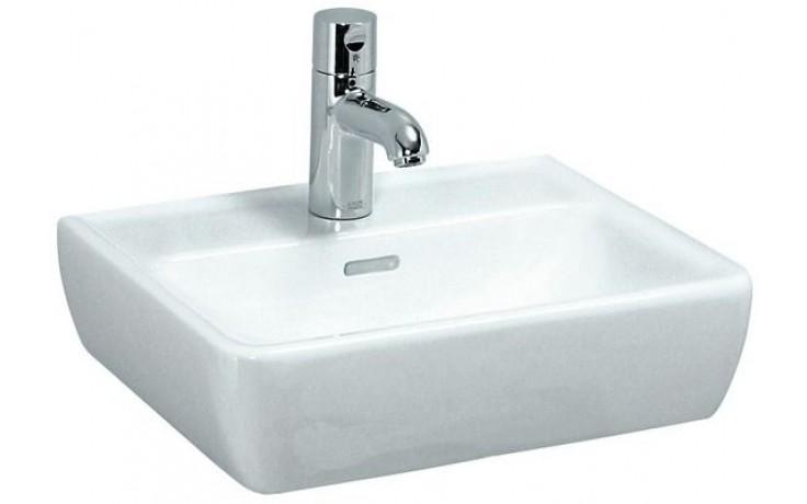 Umývátko klasické Laufen s otvorem Pro A 45 cm bílá-LCC