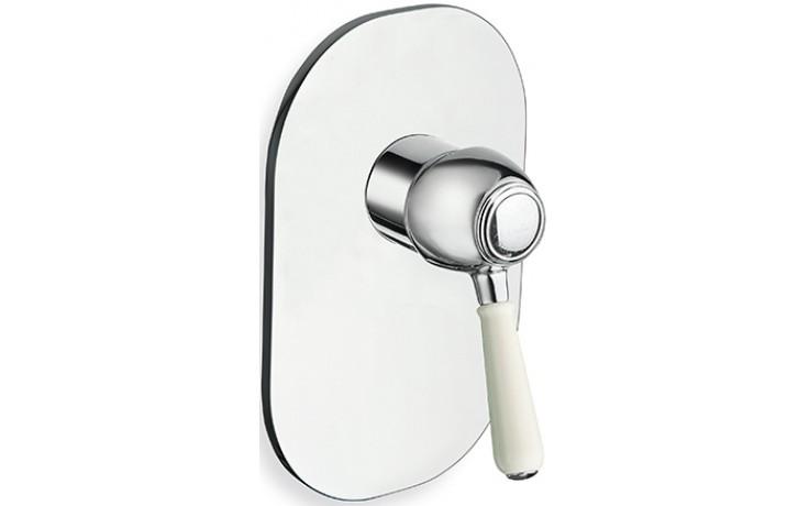 CRISTINA ART ELITE sprchová baterie podomítková páková vrchní díl chrom LISAE63651