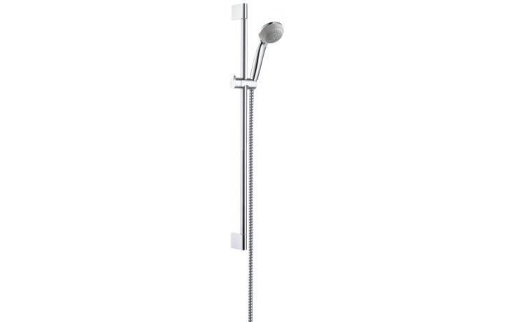 HANSGROHE CROMETTA 85 GREEN MONO sada ruční sprcha/nástěnná tyč Unica'Crometta 0,65m chrom 27652000