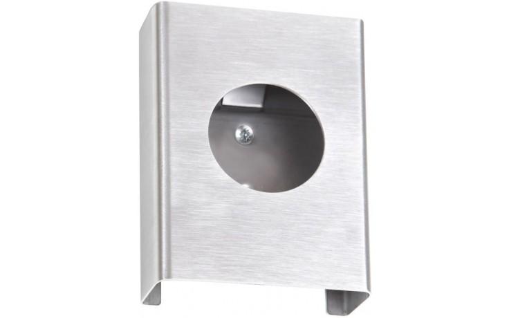 GOZ METAL zásobník na hygienické sáčky 100x135x25mm, nerez