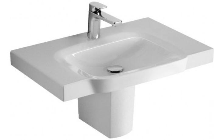 Umyvadlo nábytkové Villeroy & Boch s otvorem Sentique 800x520mm Bílá Alpin Ceramicplus