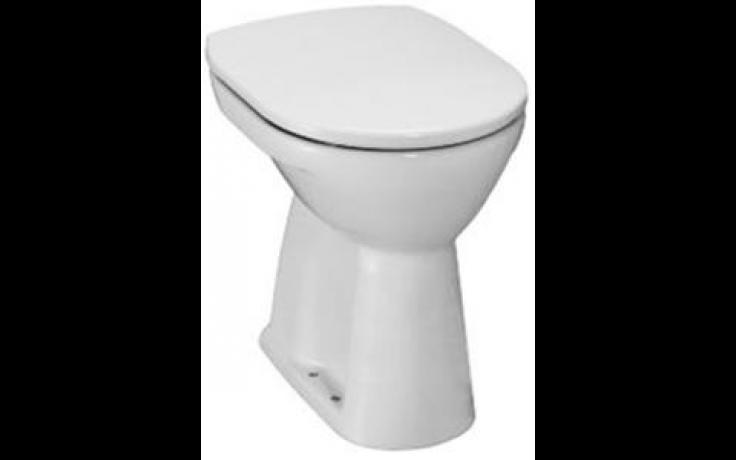 JIKA LYRA PLUS klozet 360x470x450mm, samostatně stojící, ploché splachování, svislý odpad, bílá