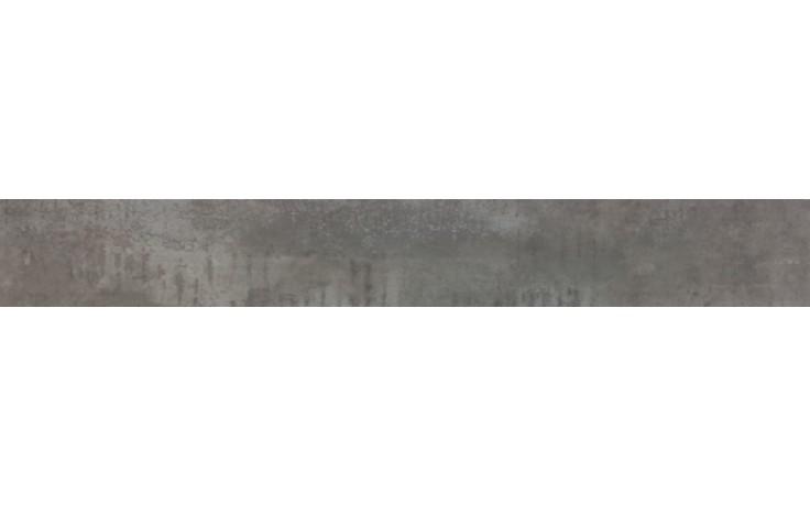 Sokl Keraben Rodapié KursalGris 8x60cm šedá